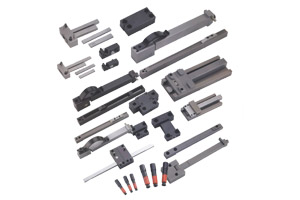 Mold locking components